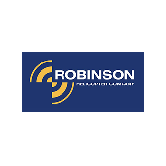 Robinson Helicopter Blue Logo