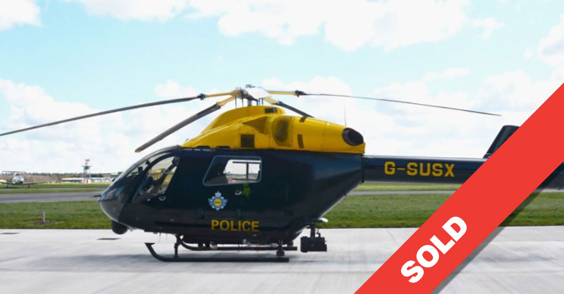 Multiflight UTILITY POLICE EQUIPPED MD 902 G SUSX SOLD