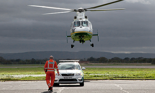 Air Ambulance Car