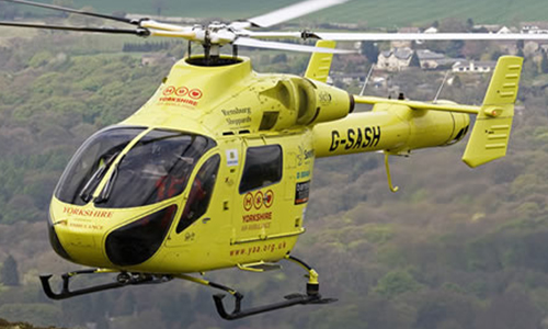 Great North Air Ambulance Flying