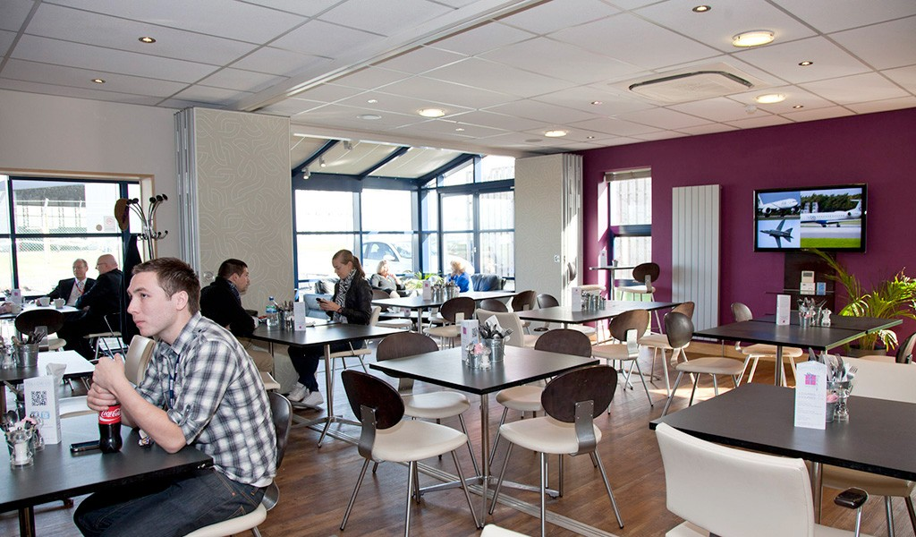 Visit Multiflight Cafe Leeds Bradford Airport