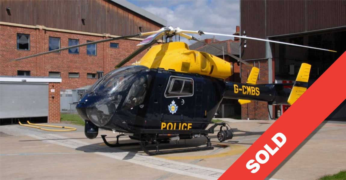 Utility / Police Equipped MD 902 G-CMBS