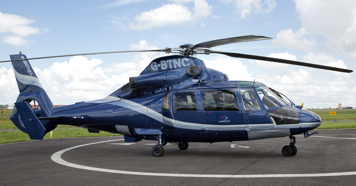 Busy week for Multiflight helicopter charter with Royal Ascot and Glastonbury