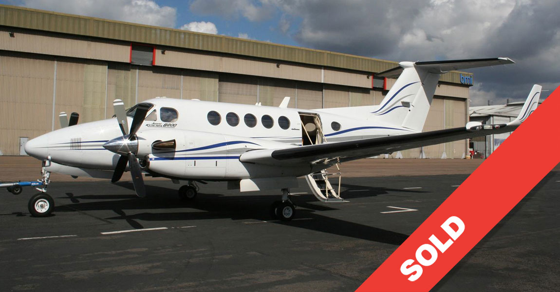 1988 king air b200 sold