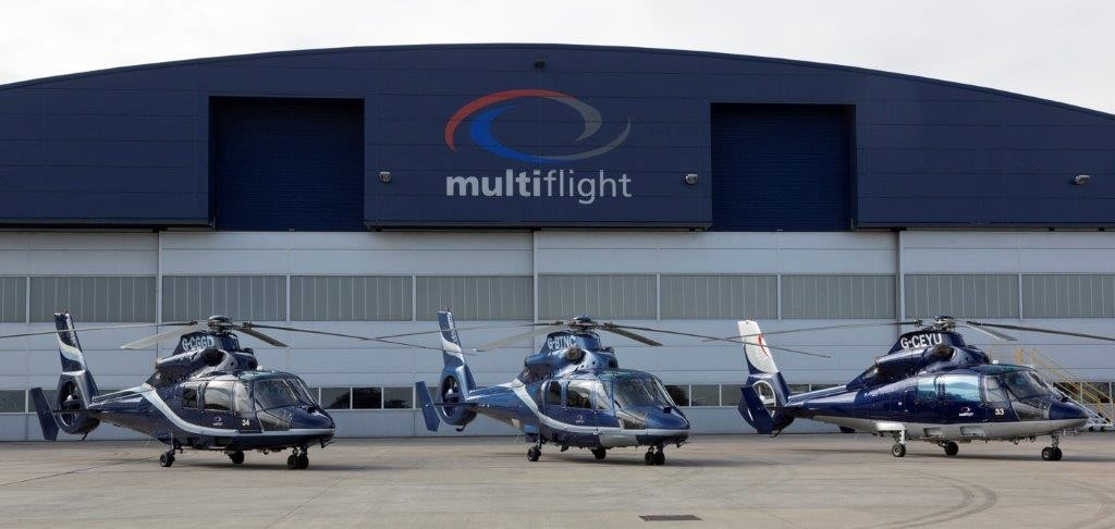 Luxury helicopter charter from Multiflight