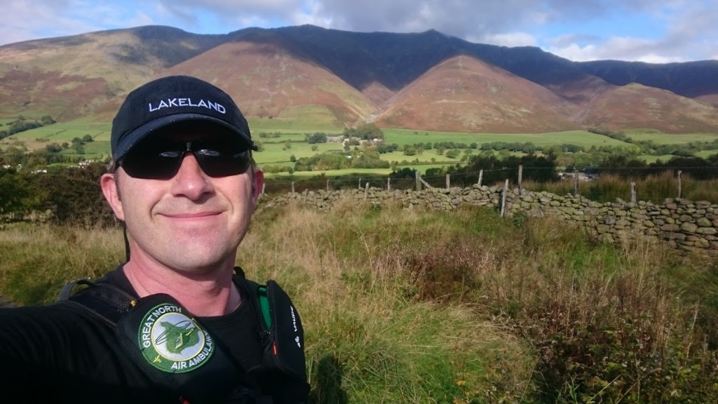 Multiflight pilot completes Lakes Run for air ambulance charity