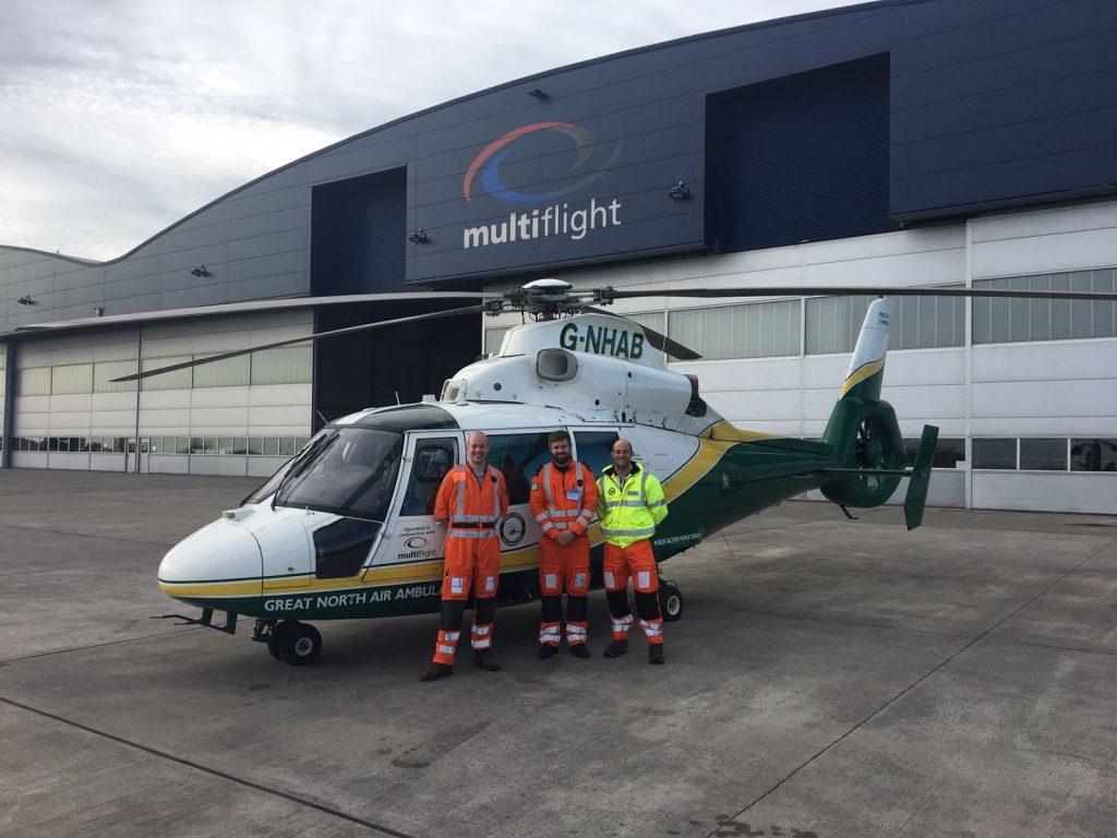 Personal insight into Pre-Hospital Emergency Medicine Crew Course, Multiflight