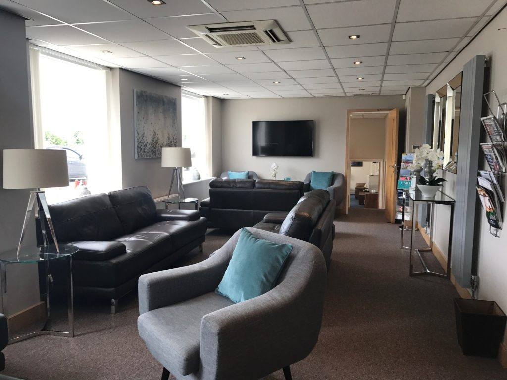 The lounge, used by private aviation clients, has had a rapturous response from visitors.