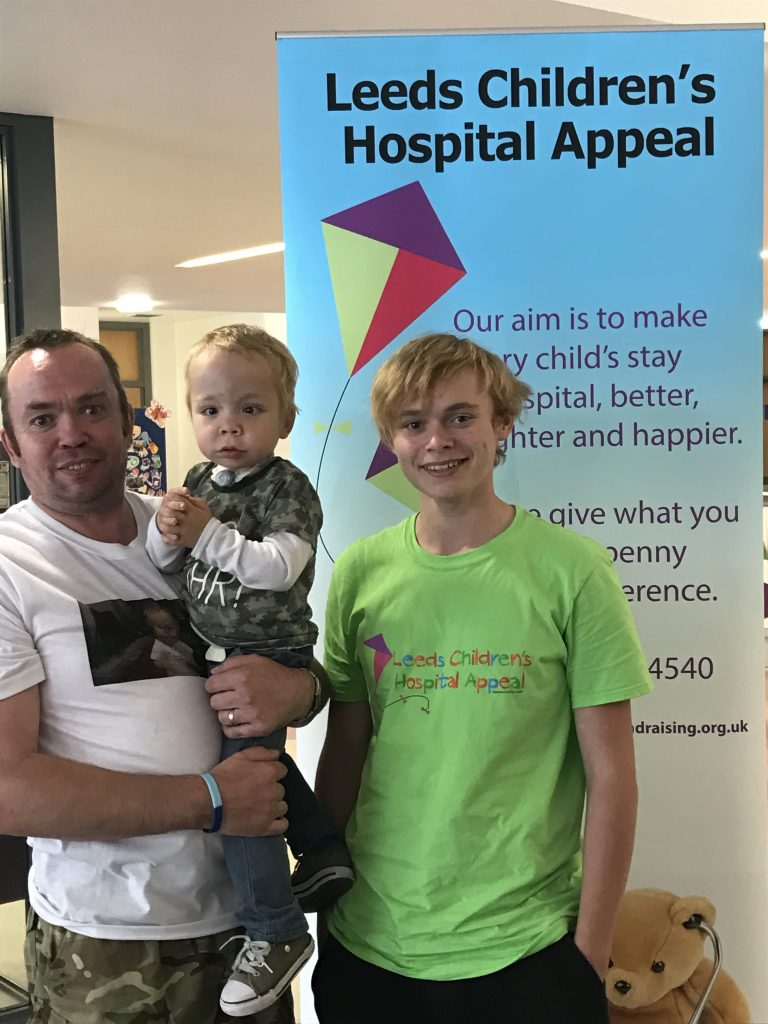 Multiflight supports fundraising for boy who has defied the odds