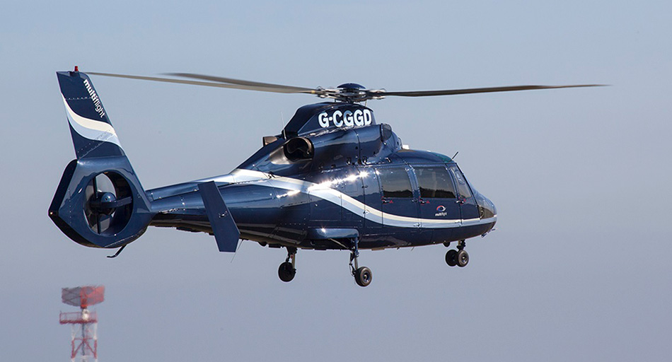 Helicopter charters to UK events