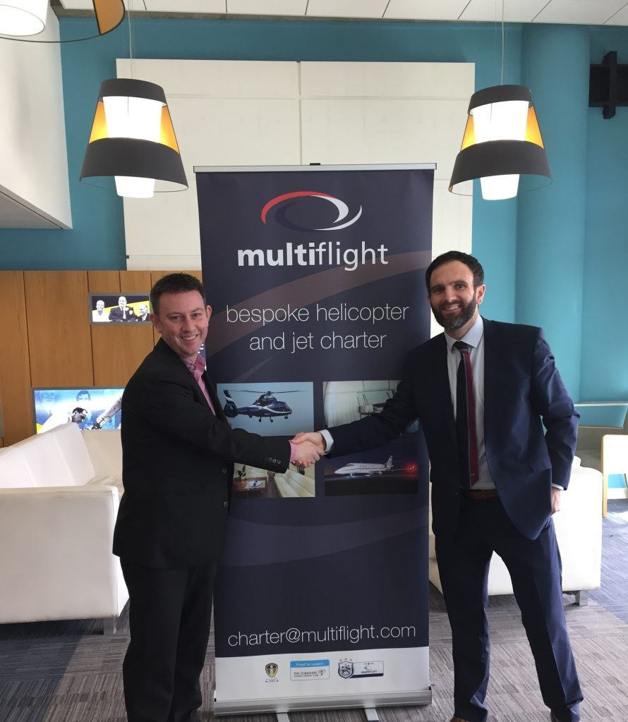 Multiflight sponsorship of Yorkshire County Cricket Club takes off for another season