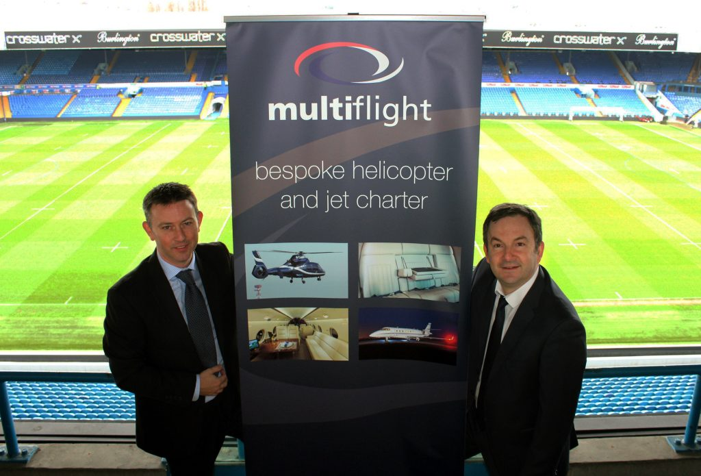 Leeds United flies high with Multiflight