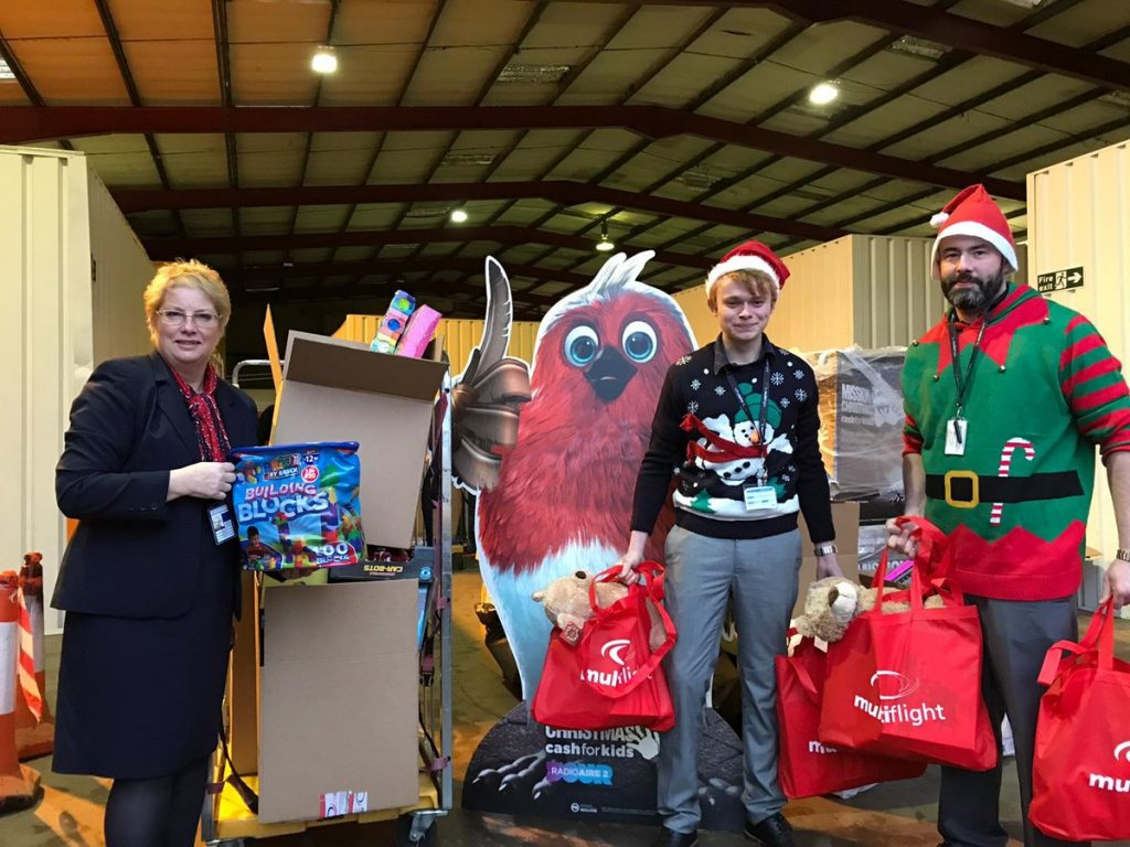 Multiflight gets a big thank you for supporting Mission Christmas 2018