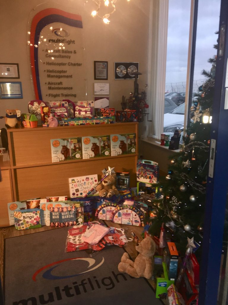 Amazing response to Mission Christmas 2018 at Multiflight
