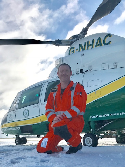 Experienced North Sea helicopter pilot Stuart joins Multiflight