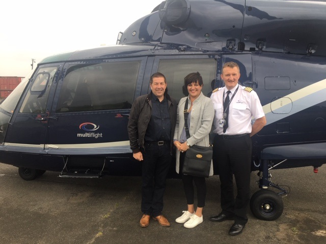 It's time for take-off to Take That for charity auction winners - thanks to Multiflight!
