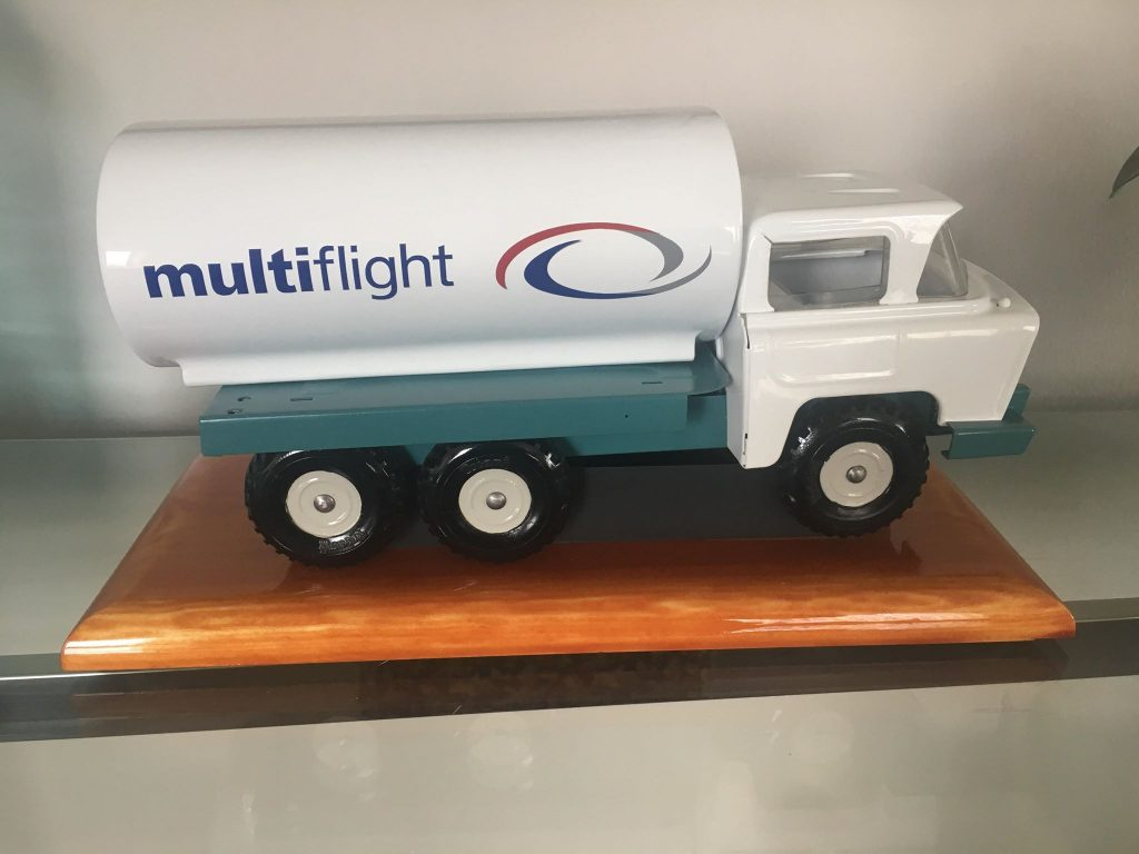 Creativity 'fuelled' for Multiflight's Colin for latest model project