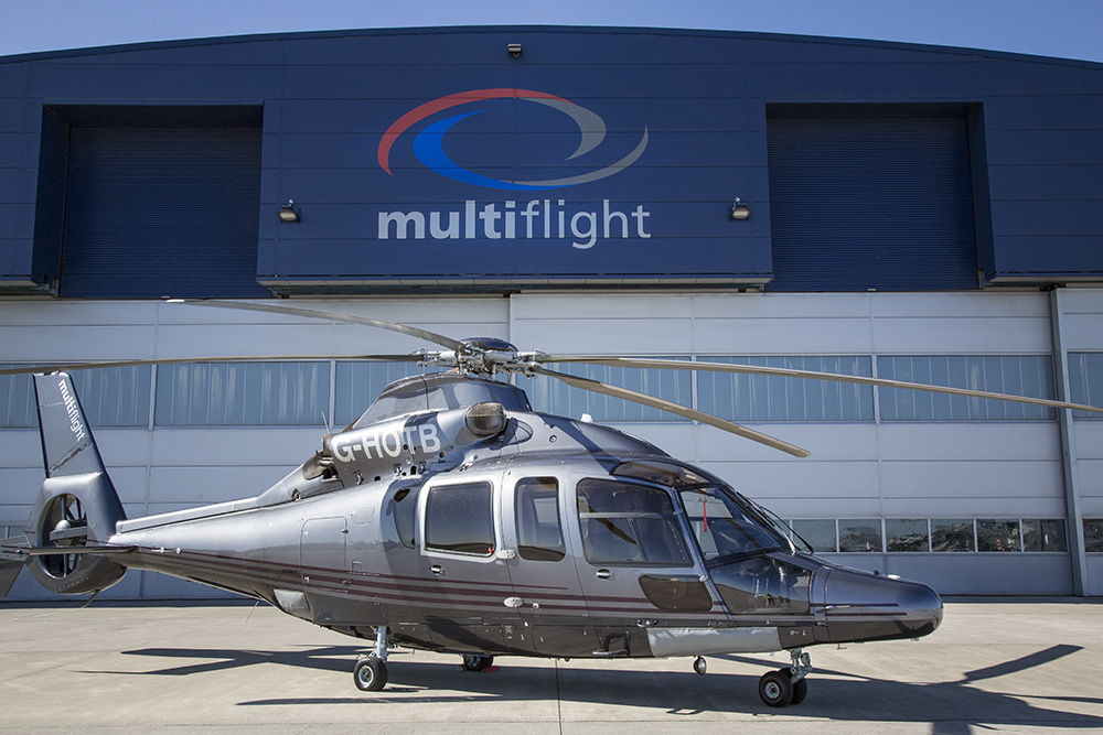 High praise for Multiflight helicopter charter service