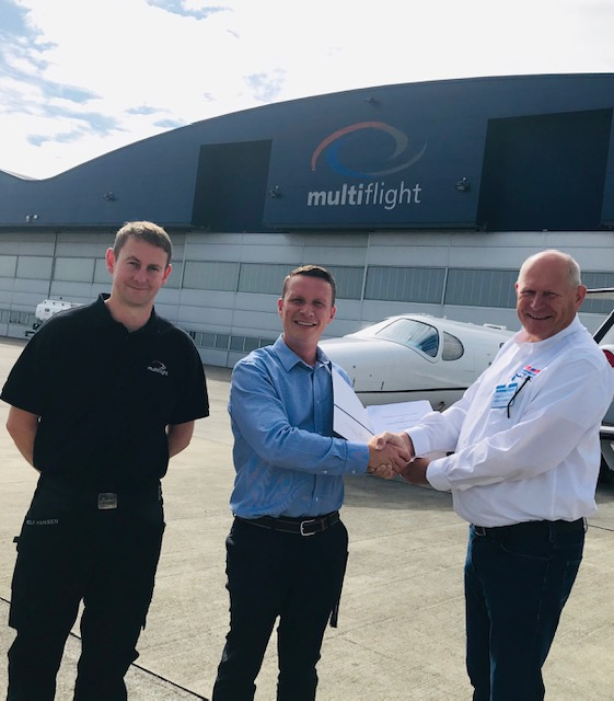 Multiflight appointed official Continental Aerospace Technologies New Factory Engine Distributor